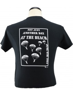 Paratroopers Army T-Shirt Not Just Another Day At The Beach