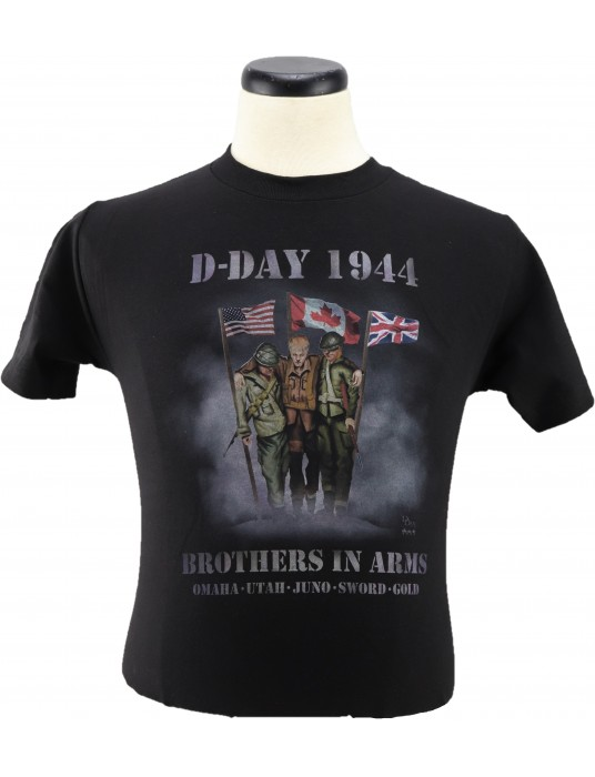 Army T-Shirt Brothers In Arms: Soldier Camaraderie T-Shirts