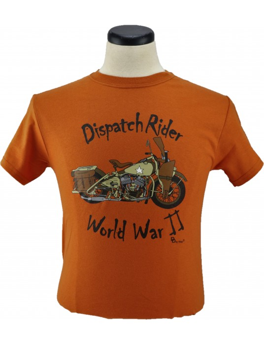 Army T-Shirt Dispatch Rider: Motorcycle T-Shirts '42 Harley