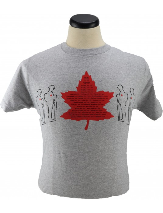 Flanders Fields Army Shirt: Canadian Military Conflict 1812 +