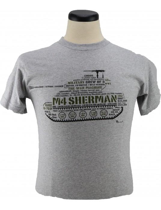 Army T-Shirt M-4 Sherman Firefly Medium Tank: Allied Tanks!