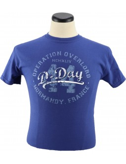 Army T-Shirt Operation Overlord 44: Short Sleeve D-Day Shirts