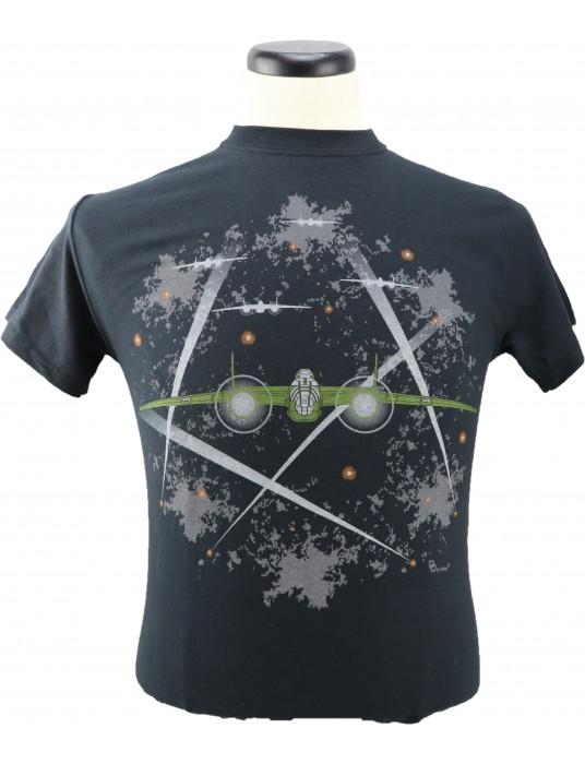 Air Force T-Shirt The Tail Gunner: B-25 With Gunners T-shirts