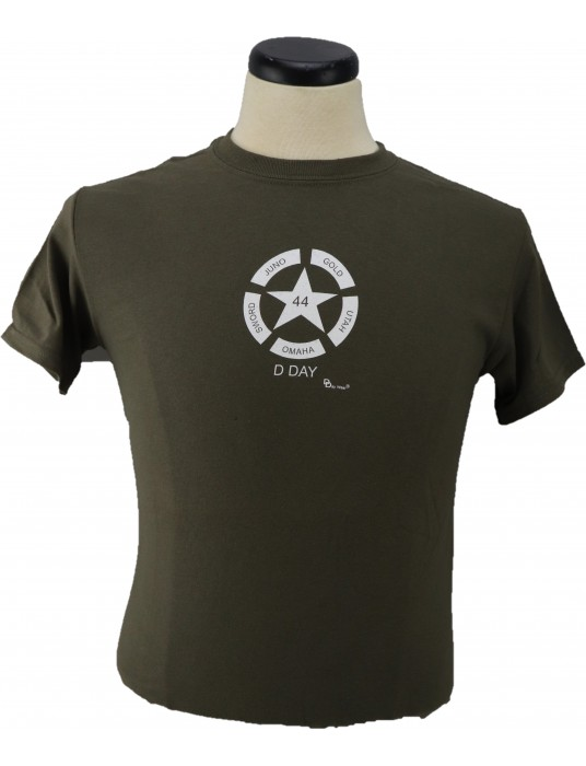 Armed Forces T-Shirt The Invasion Star: Shop D-Day T-Shirts