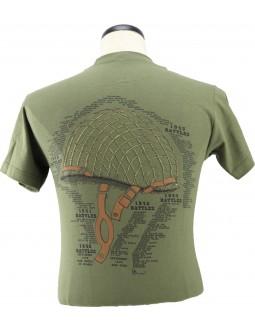 Army T-Shirt The Helmet: Shop 3D Shirts W/ WW2 Battles List