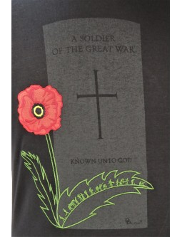 Embroidered Ladies T-Shirt With Grave Of An Unknown Soldier!