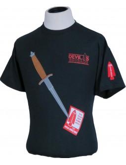 Devil's Brigade T-Shirts: W/ Embroidered V42 Stiletto + Patch