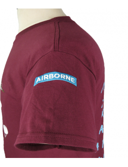 T-Shirts With Airborne Troops + Dakota Planes