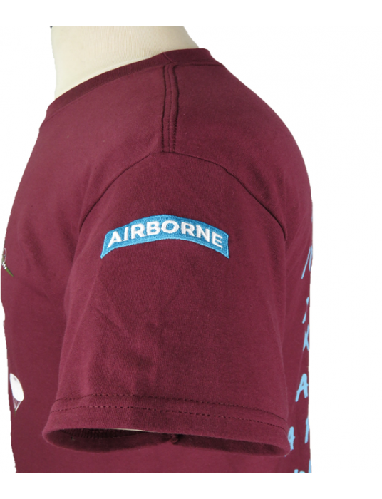 Embroidered Shirt: T-Shirts W/ Airborne Troops + DC-47 Planes