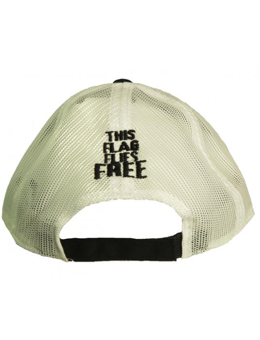 Military Hats: This Flag Flies Free Mesh-back CDN Ball Cap
