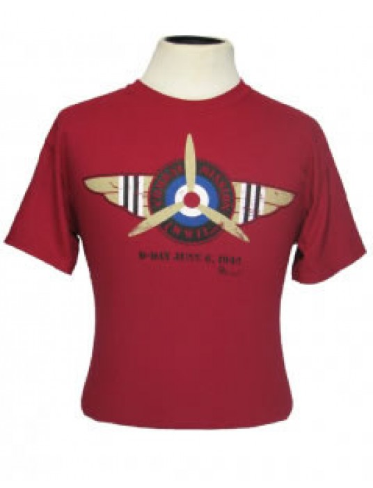 Air Force T-Shirt Combat Mission: Airborne Force WW2 T-Shirts