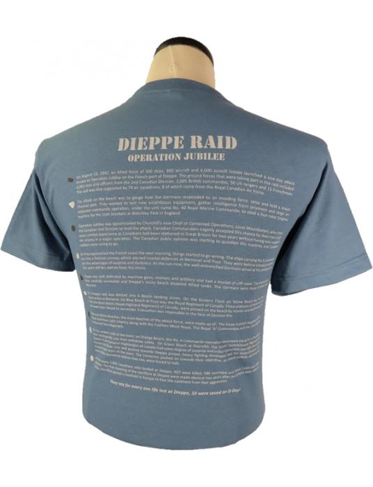 Army T-Shirt Dieppe Raid Operation Jubilee: Textured T-Shirts
