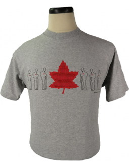 The Flanders Fields Shirt- Featuring every Canadian Conflict From 1812- 2019