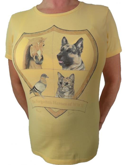 Women's T-Shirt Forgotten Heroes: WW2 Heroic Animals T-shirts