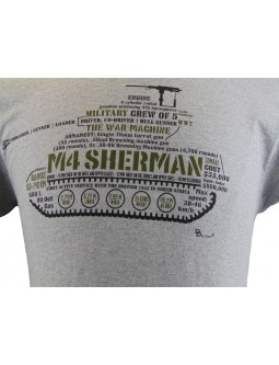 T-Shirt: M-4 Sherman Firefly Medium Tank