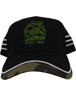 Embroidered Baseball Hat: ON LAND BY SEA IN THE AIR Design