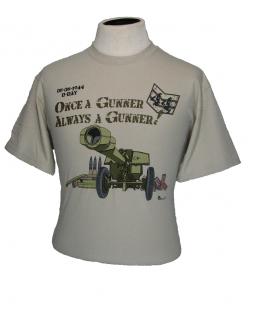 "T-Shirt: Army T-Shirts ""Once A Gunner"""