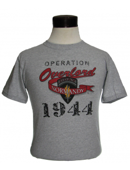 "T-Shirts ""Operation Overlord"" With A T-Shirt Design Commemorating The D Day Invasion Plan Of WW2"