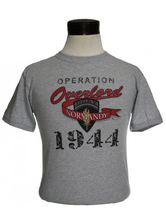T-Shirt Operation Overlord: Invasion Plan Of D-Day T-Shirts