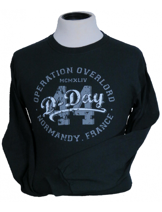 Military Shirt: WW2 Operation Overlord 44 Long Sleeve T-Shirt