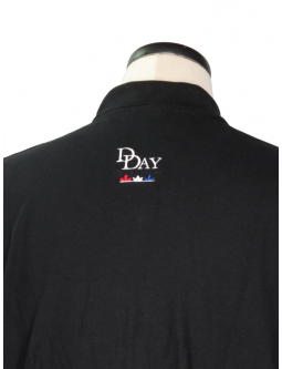 Golf Shirt: Shop For D-Day Commemorative Black Military Polos