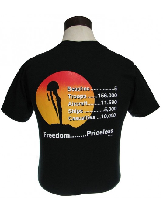 T-Shirt Priceless: High Cost Paid For D-Day Invasion T-Shirts