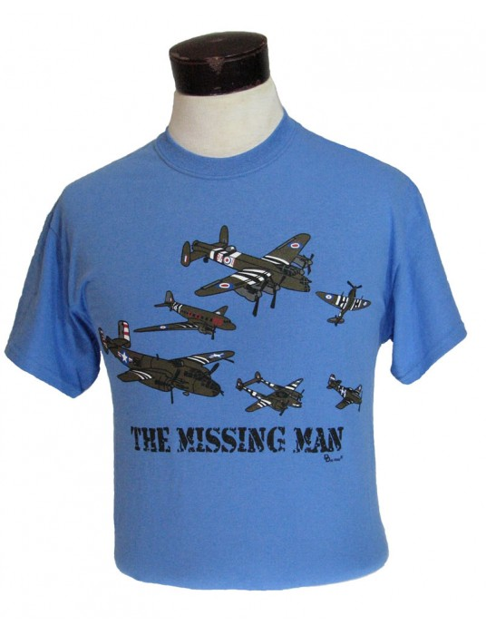 Air Force T-Shirt Missing Man: Aerial Salute Military Tshirts