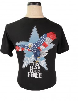 This Flag Flies Free made in America T-shirt