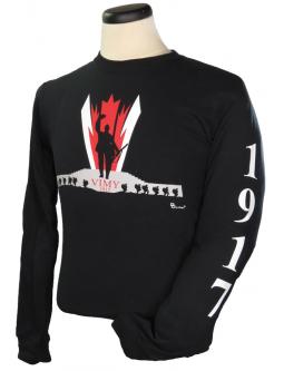 Long Sleeve T-Shirt: Vimy Ridge