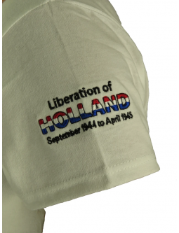 Embroidered Ladies Shirt: Liberation Of Holland T-Shirts