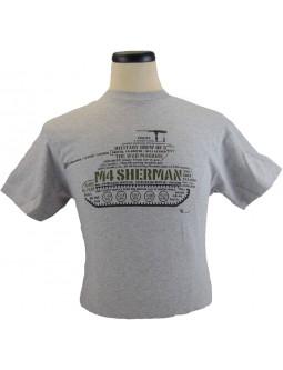 "Army T-shirt ""M-4 Sherman Firefly"" Medium Tank: Allied Tanks !"